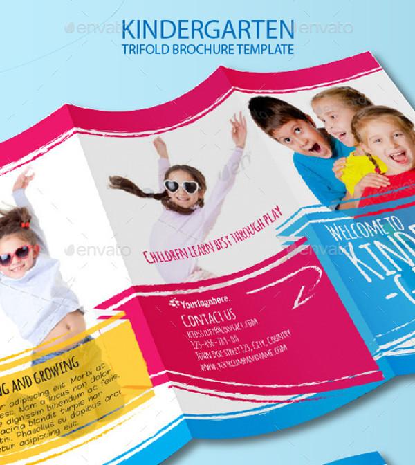 Kindergarten-Tri-Fold-Brochure
