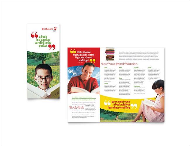 Library Book Brochure