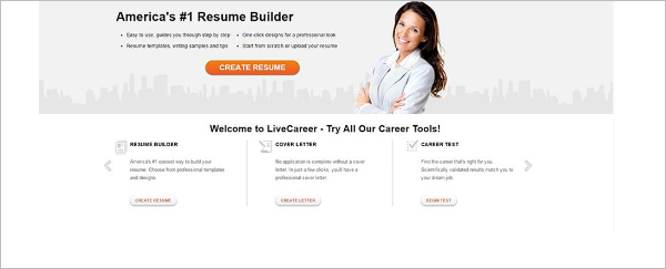 Livecareer Resume Word Template