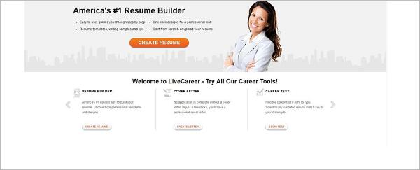Livecareer Resume Word Template