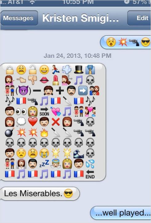 Love Story by Emoji Design