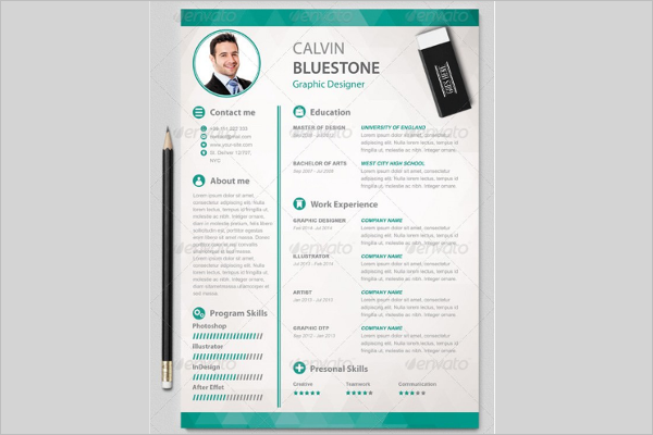 MAC Resume Model Template