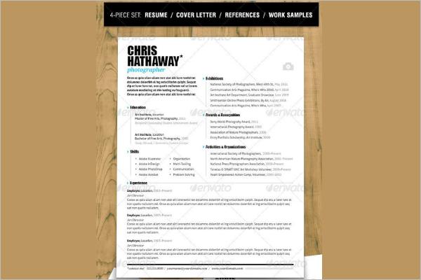 MAC Resume PDF Template