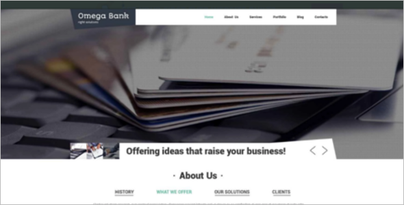Main Bank Drupal Template