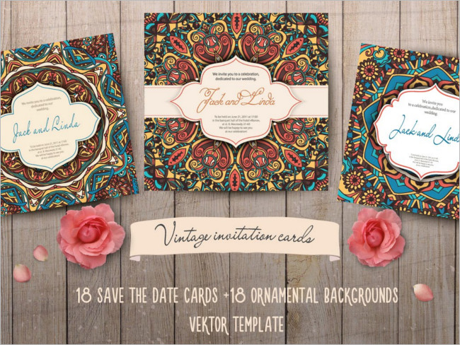 Main Invitation Cards Design