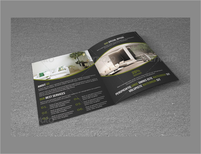 Marketing Interior Decoration Brochure