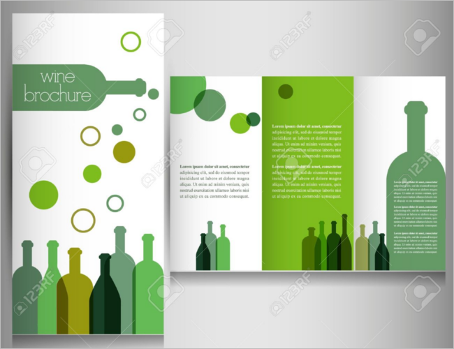 Marketing Wine Brochure
