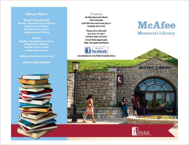 Memotial Library Brochure