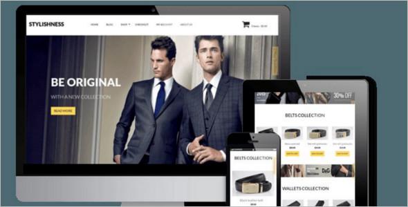 Men's Stylish Accessories WordPress WooCommerce Theme