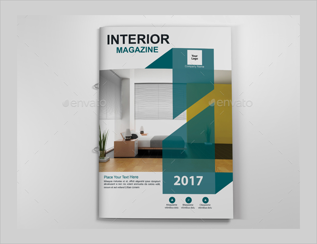Minimal Interior Decoration Brochure