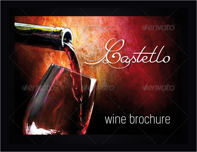 12 Wine Brochure Templates Free Word Psd Designs