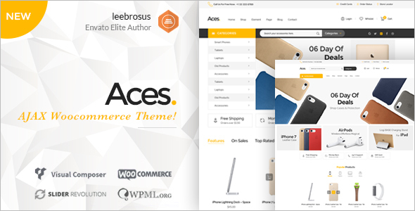 Mobile Accessories Woocommerce Theme