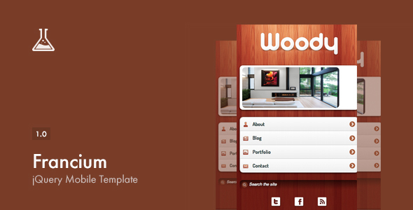 Mobile Site Website Template