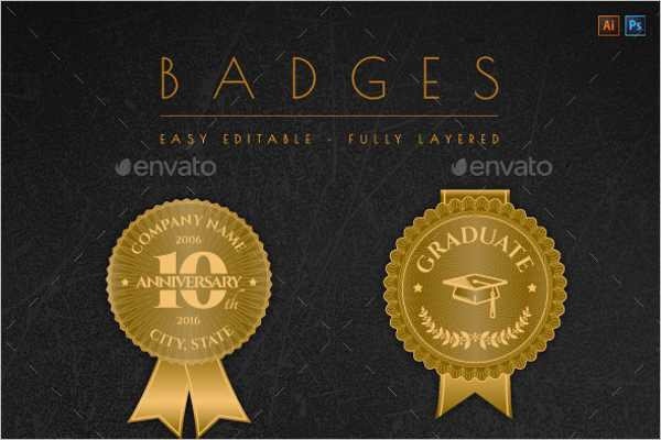 Modern Badges & Stickers Design