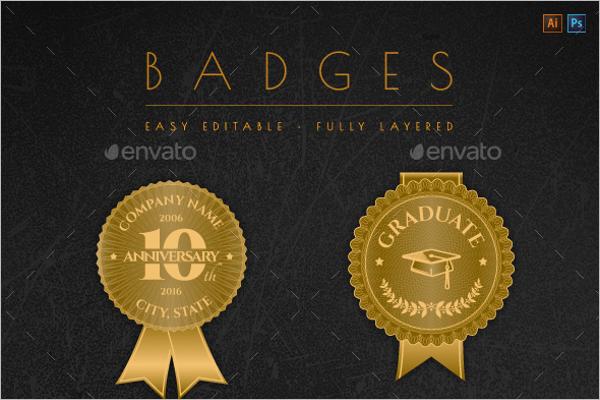 Modern Badges & Stickers Design