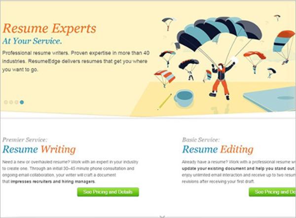Modern Resume Builder Template