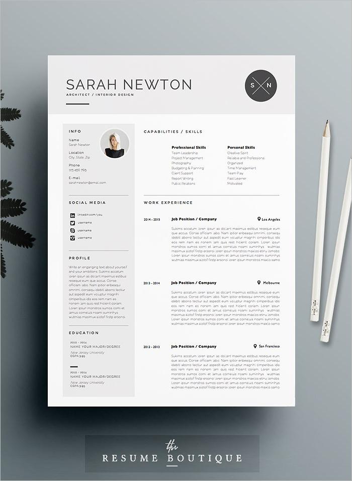 Moon light Resume Design Template