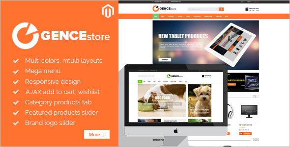 Multi Pet Store Magento Theme