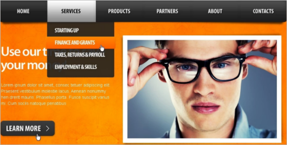 Multi-Tax Consulting Drupal Theme