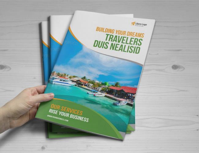 Multipurpose Bifold-Trifold Travel Brochure
