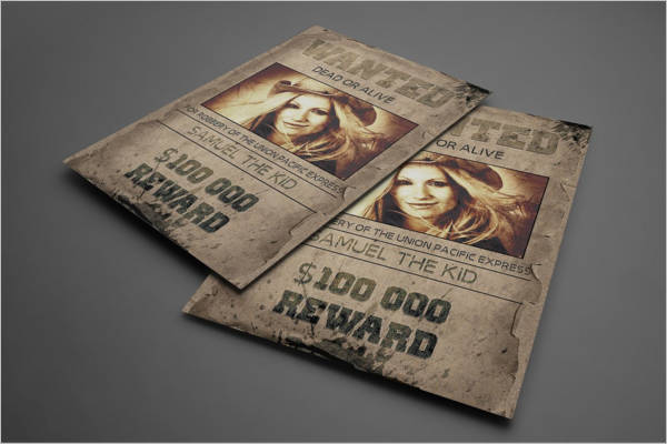 Multipurpose Old West Poster Template