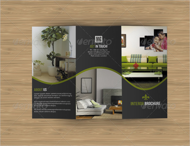 Multipurposre Interior Decoration Brochure