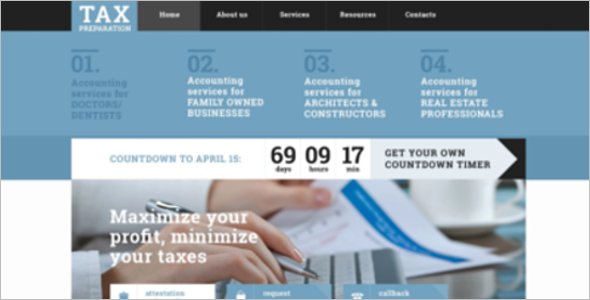 NRE Account Website Theme
