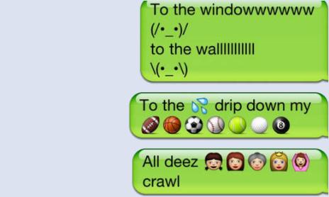 Net Emoji Lil Jon Design