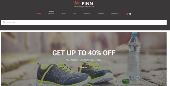 New Extreme Sports Store Shopify Theme