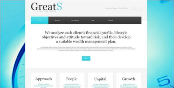 New Free Account WordPress Template