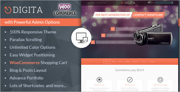 New Pc Accessories Store WooCommerce Template