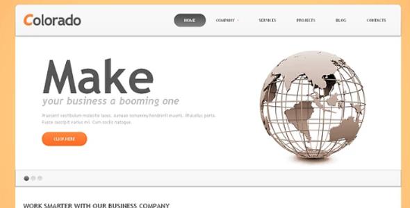 Online Accounting Website Responsive Joomla Theme