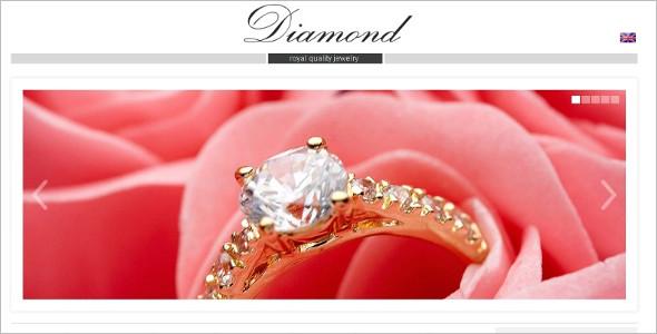 Online Jewelry Store ZenCart Theme
