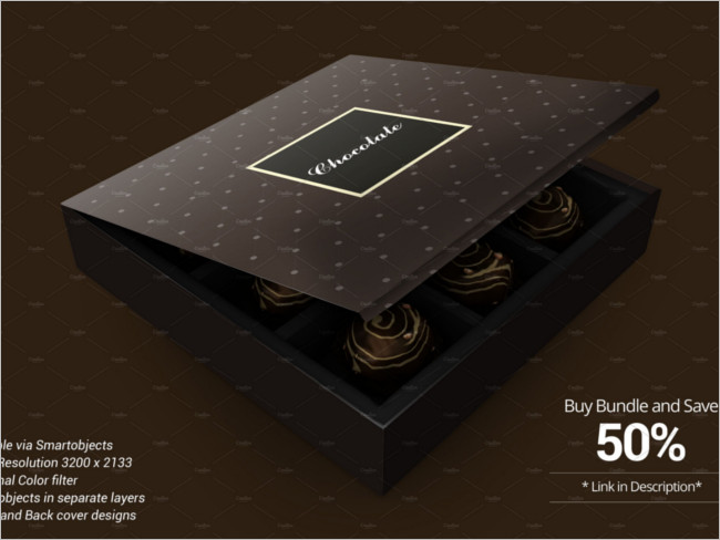Package Chocolate Box Design