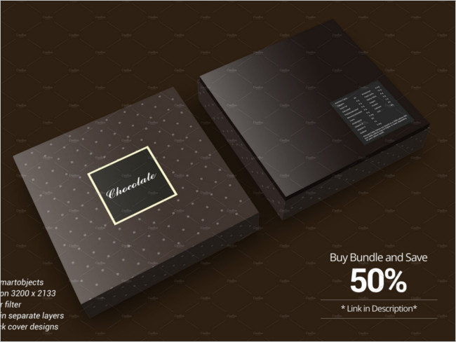 Package Chocolate version Image Design