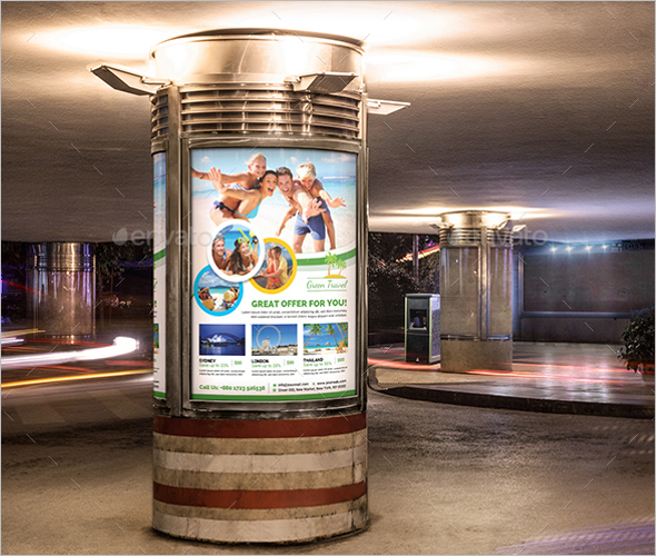 Paris Travel Poster Template