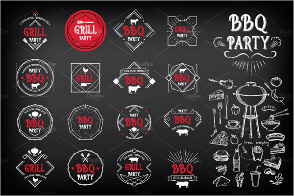 Party Badges & Stickers Design