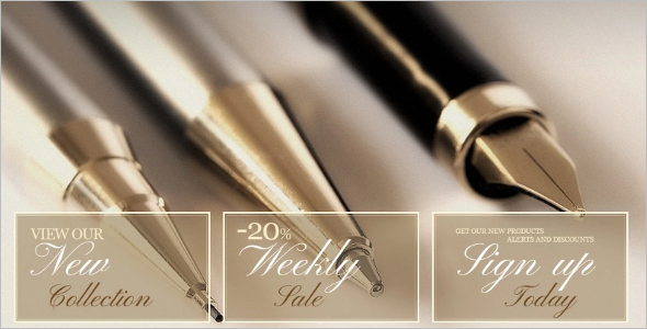 Pens Stationery OpenCart Template