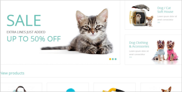 Petsy Supplies Magento Theme