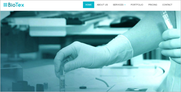 Pharma HTML 5 Website Template