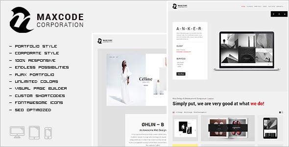 Portfolio Agency WordPress Template
