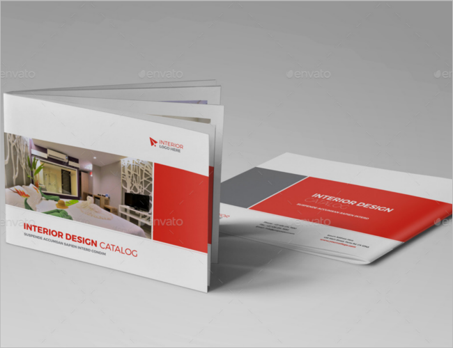 Portfolio Interior Decoration Brochure