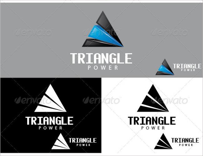Power Triangle Logo Symbols
