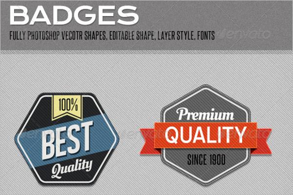 Premium Badges & Stickers Design
