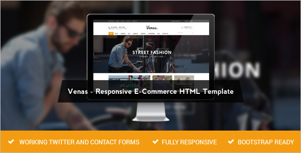 Premium E-commerce Retail Store WordPressTemplate