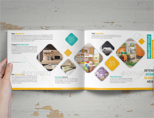 Premium Interior Decoration Brochure