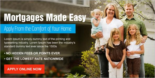 Premium Mortgage Service Landing Page