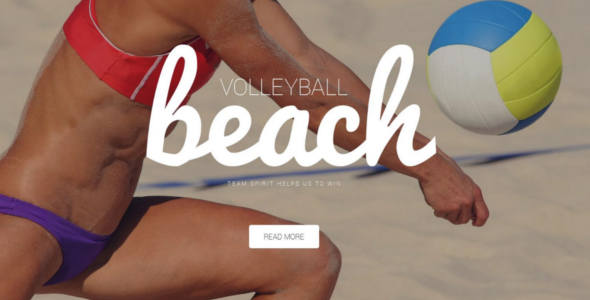 Premium Outdoor Volleyball WordPress Theme