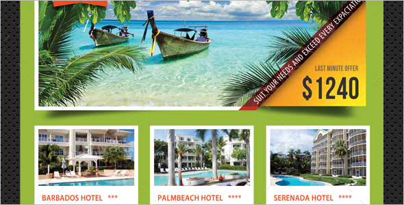 Premium Travel Agency Poster Theme