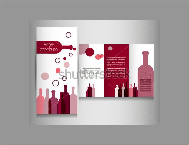 Premium Wine Brochure Design